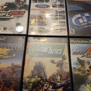 Random assorted lot of playstation 2 bundle